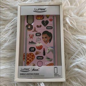 iPhone X LuMee Case
